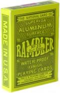 Rambler Pokerkarten mit Goldrand