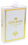 Regalia White Spielkarten von Shin Lim