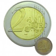 Riesenmünze 2 Euro