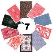 Spielkarten-Muster Serie 07